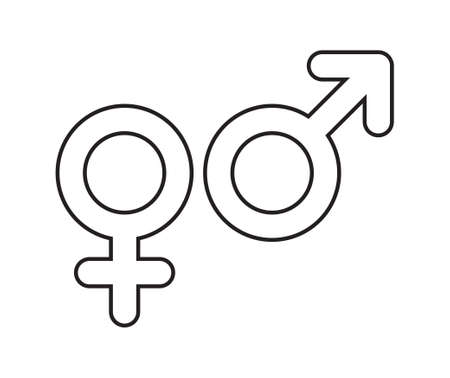 Male female icons