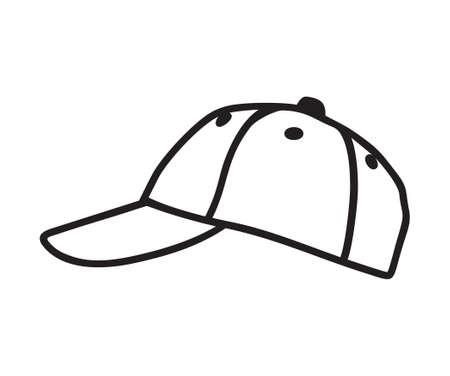 sported: Baseball Cap vector