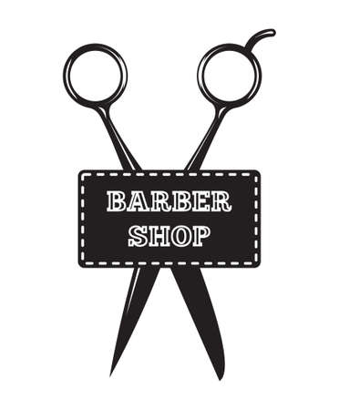 scissors icon - barber shop