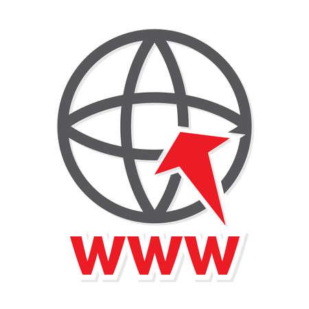 web icon - www vector icon