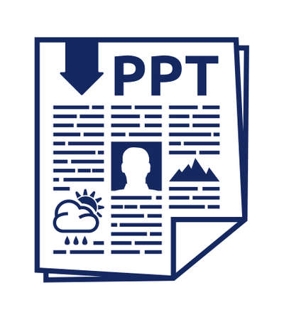 ppt: PPT vector icon