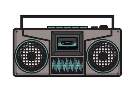 Cassette player - ghetto blaster