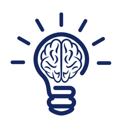 Brainstorming lighting bulb