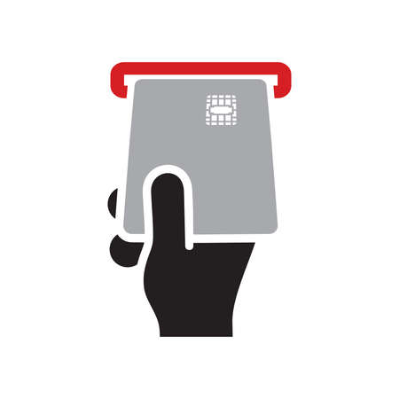 ATM vector icon Stock Illustratie