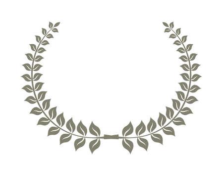 poet: Laurel symbol vector