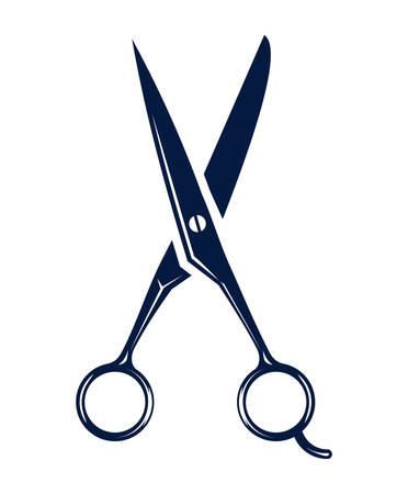 scissors icon - hair salon 일러스트