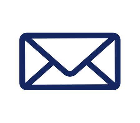 correspondence: Icono de correo - icono de vector de sobre