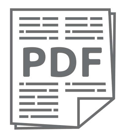 pdf: Pdf vector icon Illustration