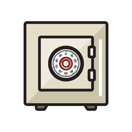 storage box: Safe lock - safety box bank