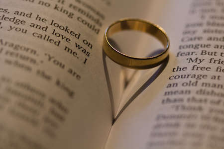 vow: Ring Stock Photo
