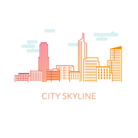 city: City skyline Illustration