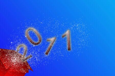 paquet: sylvester 2011 card