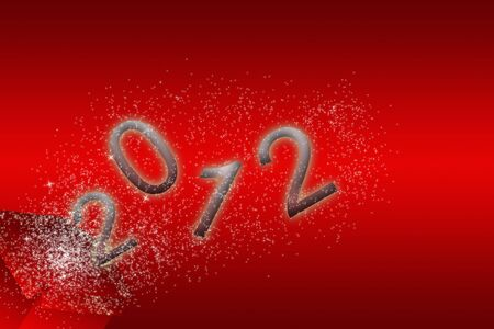 silvester card 2012 Stock Photo - 6774588
