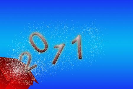 silvester: silvester card 2011