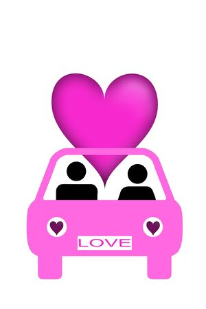 love mobile illustration