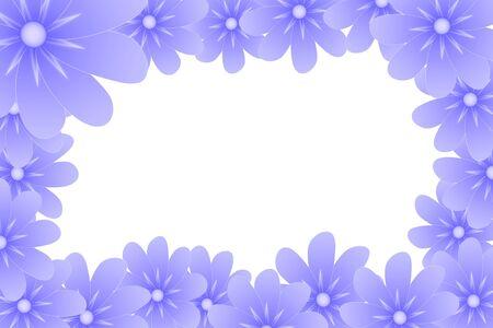 lila: lila flower frame