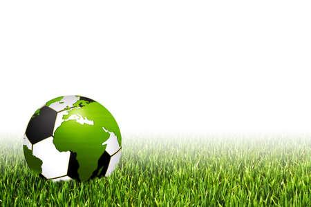 playfield: africa football illustration