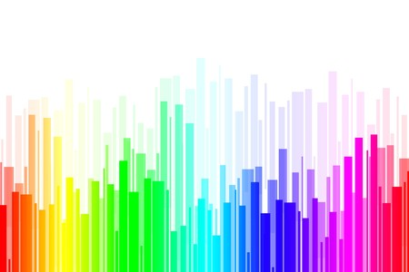 sripes: abstract colored stripes on white background