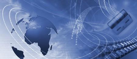 Internet concept illustration illustration