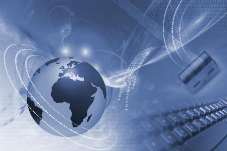 mapa conceptual: Ilustraci�n del concepto de Internet
