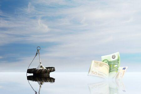 global market: rescue euro money