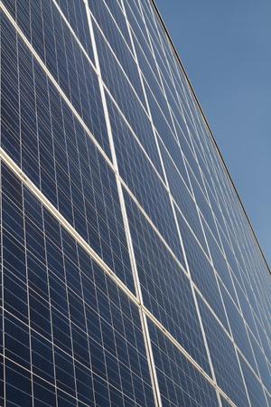 panel: Photovoltaic panel Stock Photo