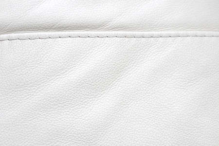 Natural leather white texture background. Macro. Vintage fashion background for designers and composing collages. Luxury textured genuine leather of high quality. Stok Fotoğraf