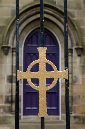 Church Door Фото со стока
