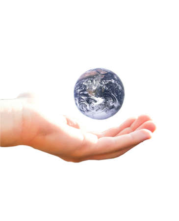 Earth in my hand photo