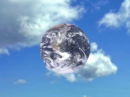 Peaceful Earth Stock Photo - 6607361