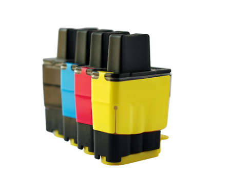 bubblejet: Inkjet cartridge Stock Photo