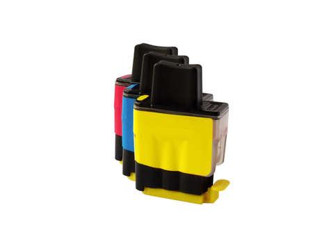 miniaturization: Inkjet cartridge Stock Photo