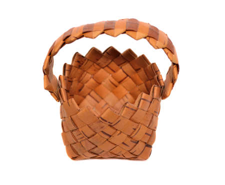 Wicker basket  photo