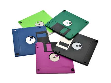 Floppy diskettes  Stock Photo - 8397439