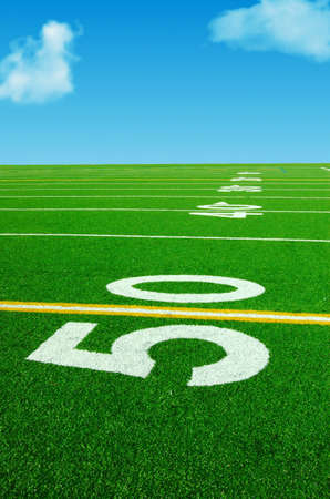 50 yard dreams Stock Photo