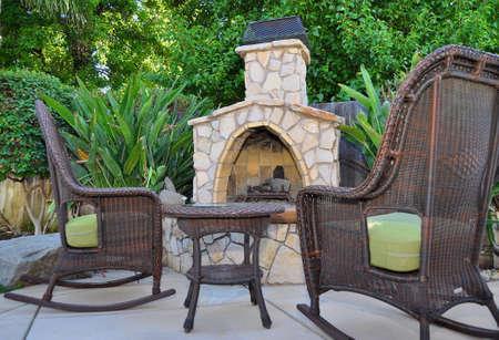 Backyard firepit