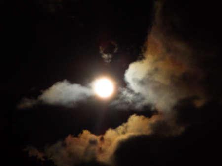 Blue Moon Фото со стока