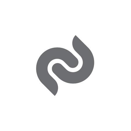 dubbele lettercode Stock Illustratie