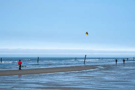 Herbst an der Nordsee Standard-Bild - 77430138