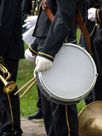 school band: Brass band, detail