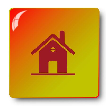 home icon,sing,illustration Stock Photo