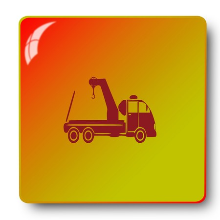 truck icon,sing,illustration