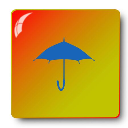 umbrella icon,sing,illustration