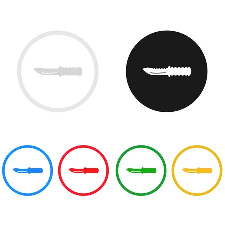 knife icon,sing,illustration