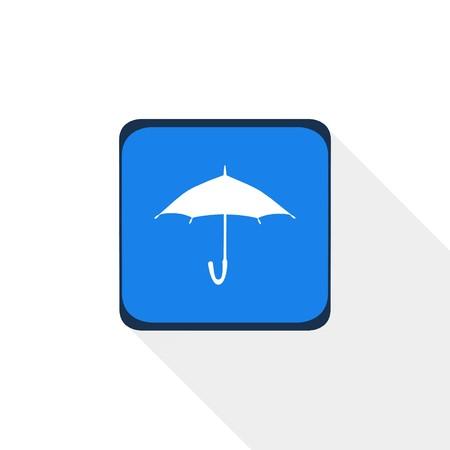 Icône parapluie, illustration Banque d'images - 80151013