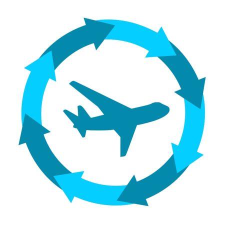 plane,icon,sing,vector Illustration