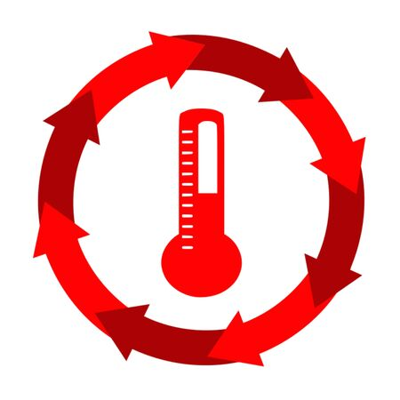 Thermometer icon,sing,vector