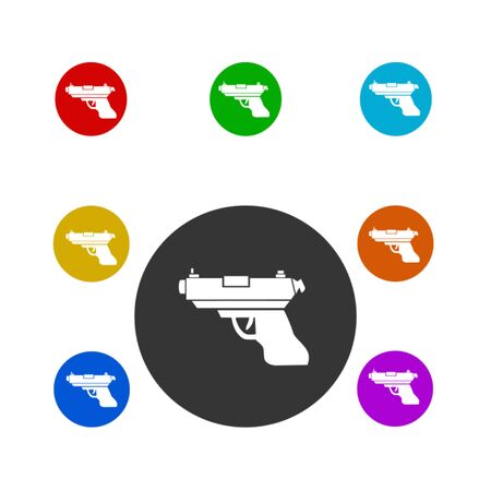 gun icon,vector