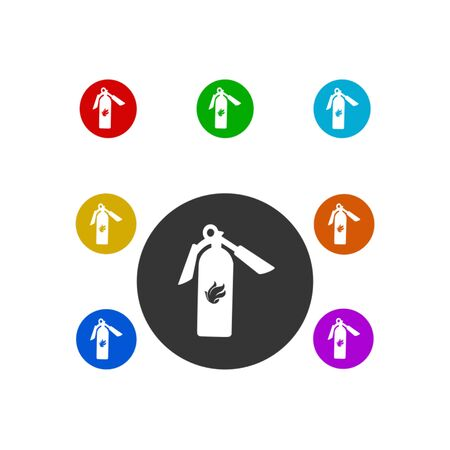 fire extinguisher icon,vector