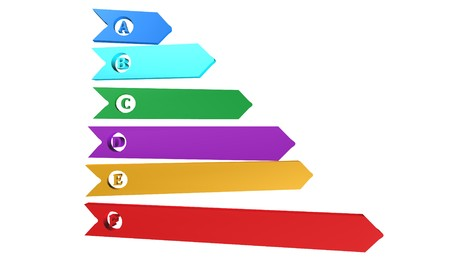 efficiency chart icon,sign,3D illustration